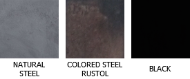 Colors of steel